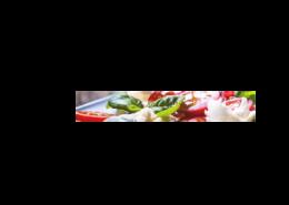 Echtglas-Rueckwand-Salat-Tomate-Basilikum-Mozzarella